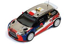 IXO Citroen DS3 RRC #74 Rally Alemania (Germany) 2013 Kubica - Baran RAM539 1/43