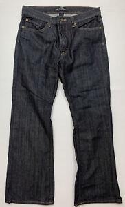 Banana Republic Denim Jeans Size W31 L30 Dark Blue Wash Mid Rise Like New