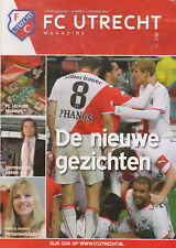 Programme / Magazine FC Utrecht Nummer 2 November 2008 seizoen 2008/2009