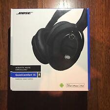 Bose QuietComfort 15 Noise Cancelling Headphones (Black) STILL SEALED w/ Case