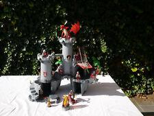 (SE0104) Playmobil 4835 große Drachenburg, Ritter, Drache, Drachenritter