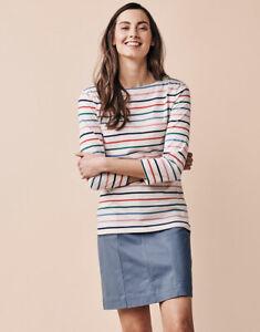 New Crew Clothing Womens Essential Breton in Multicoloured
