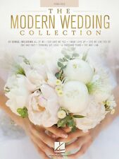 The Modern Wedding Collection Sheet Music Piano Solo SongBook NEW 000151783