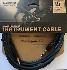 D'Addario Planet Waves 15-ft Classic Series Instrument Cable PW-CGT-15
