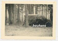 Foto Funkübung in Niedermittlau-LKW-getarnt- Pz.Jg.Abt.230-169 Inf.Div. (p08)
