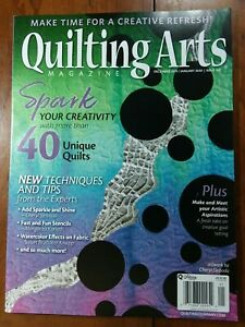 Quilting Arts Dec 2019 Jan 2020 New Techniques and Tips Issue 102 ~SHIPS FREE