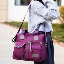 Women's Causal Shoulder Bags Fashion Tote Crossbody Bags Solid Color Handbags YI