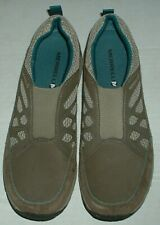MERRELL WOMEN'S SLIP ON PERFORMANCE SHOES SIZE 10 AIR CUSHION BROWN HARDLY WORN