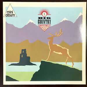 "Big Country - S/T - Original 1984 five-track 12"" vinyl EP - near mint"