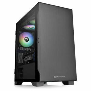 Thermaltake CA-1Q9-00S1WN-00 S100 Tempered Glass Micro Chassis