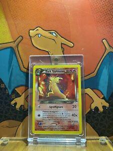 Dark Typhlosion Holo Italian Neo Destiny EX 10/105 Pokemon Card