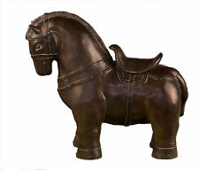 Museum Replica Chinese Tang Horse Sculpture Statue,15''Tall.