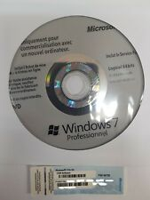 WINDOWS 7 PRO 64 BIT francais Neuf
