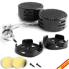 2x ALTAVOCES ALTAVOZ TWEETER 500W DOMOS COCHE SONIDO AUDIO LOUD DOME SPEAKERS