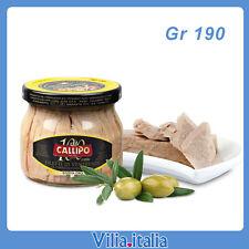 """Filetti di Ventresca di tonno in olio di oliva  RISERVA ORO  """"Callipo"""" Gr. 190"""