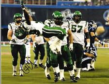 Hugh Charles CFL Signed Photo Saskatchewan Roughriders