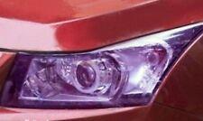 Headlight Tint Film 50cmx30cm Purple Polyurethane Waterproof Self Adhesive New