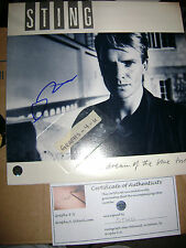 Sting Signed Autograph the Police COA B
