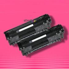 2 Non-OEM Alternative TONER for HP Q2612A 12A LaserJet 1010 1012 1018