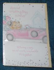 "BN - WEDDING - WEDDING CARD - ""SPECIAL WEDDING DAY WISHES"" - STYLE A"