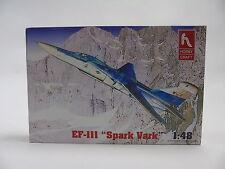 HC1411 Hobbycraft Modelos Plástico Kit 1:48 EF-111 Spark Vark Avión - & Raro