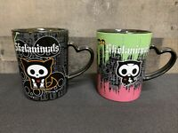 Skelanimals Collectible Coffee Mugs Cups 2009 Target Discontinued