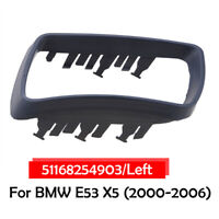 Left Passenger Side Door Wing Mirror Cover Cap Trim for BMW E53 X5 2000-2006