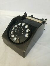 Bakelit Wählscheibe für Feldtelefon, B+G Vermittlungsklinke, altes Telefon