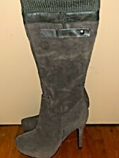 NEW Jessica Simpson Outlet Combat Boots High Heels Stilettos Shoes Sz 7 ??b12