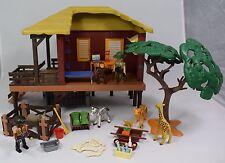 Playmobil centre de soins pour animaux de la savane set 4826