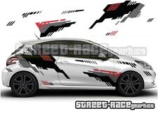 Peugeot 207 208 Rally 004 racing motorsport graphics stickers decals