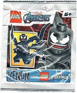 LEGO Super Heroes Venom Minifigure Foil Pack Set 242104 (Bagged)