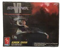 Star Trek VI Klingon Battle Cruiser AMT/ERTL Vintage 1991 Plastic Model Kit 8229