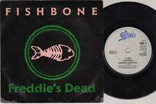 """FISHBONE Freddie'S Dead  7"""" Ps, Edit B/W It'S A Wonderful Life, Fsh 1 (Ex-/Ex- S"""