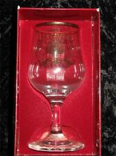 Commemorative Dema Glass Goblet Charles & Diana Royal Wedding 1981 in Box