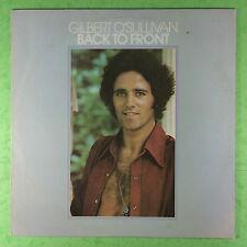 Gilbert O'Sullivan - Back To Front - MAM SS-502 Ex+ Condition Vinyl LP