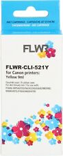FLWR CLI-521Y Yellow Compatible Cartridge for FLWR Canon NON OEM