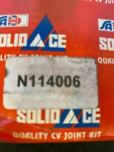 Solid Auto N114006 CV Joint Kit Nissan