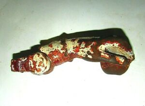 Antique Cast Iron Door Knocker Hand 1800's Whimsical, Ornate Cast Iron #9