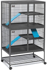 MidWest Homes for Pets Ferret Nation Double Unit with Stand Ferret Cage