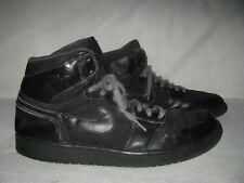 Nike Air JORDAN 1 Retro High Black Mens Sz 14 Anthracite Sneakers 332550-002