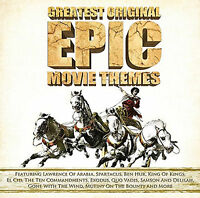 Greatest Original Epic Movie Themes - CD - BRAND NEW SEALED - BEN HUR SPARTACUS
