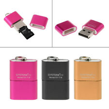 Portable Mini High Speed USB 2.0 Micro SD TF T-Flash Memory Card Reader Adapter