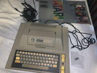 Atari 400 Computer, tested, with owners guide, power cord, Basic, joystick