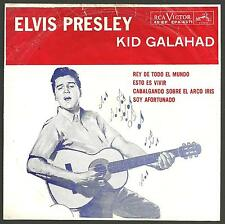 Elvis Presley - Kid Galahad EP with PS from PERU!!.
