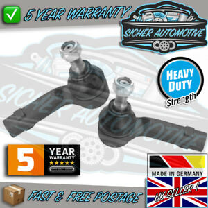 Genuine Sicher VW Polo 2002 - 2015 Front Outer Tie Track Rod Ends Pair L & R