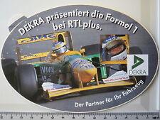 Aufkleber Sticker Dekra Formel 1 / 1992 Michael Schumacher Benetton B192 (1908)