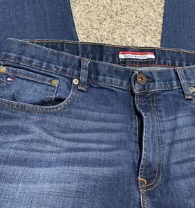 Tommy Hilfiger Jeans Mid Rise Slim TJ 1972 Horizon Dark Blue Used Pantalon Stretch
