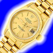 Rolex Armbanduhren Massivgold-Erwachsene