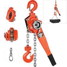 1.5 Ton Lift Lever Block Chain Hoist 10Feet Chain Come Along Puller Lift Hoist